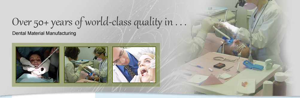 High Quality Dental Material Manufacturers