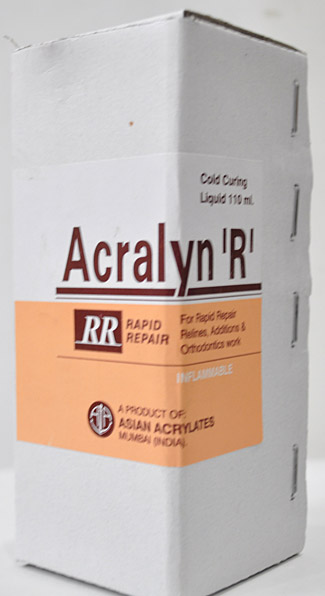 Acralyn Cold Curring Liquid